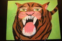 Zahnbewerter Tiger